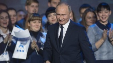 'Yes, I will': Vladimir Putin announces run for re-election in 2018