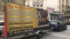?Sugar daddy' dating website advertises in Switzerland after outrage in France & Belgium